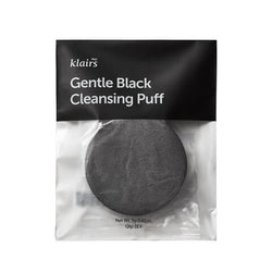 KLAIRS Gentle Black Cleansing Puff Nudie Glow Best Korean Beauty Australia