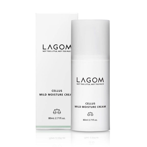 Lagom Cellus Mild Moisture Cream Nudie Glow Korean Skin Care Australia