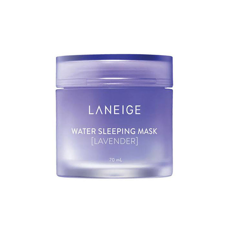 Laneige Water Sleeping Mask Lavender Best Korean Beauty Nudie Glow Australia