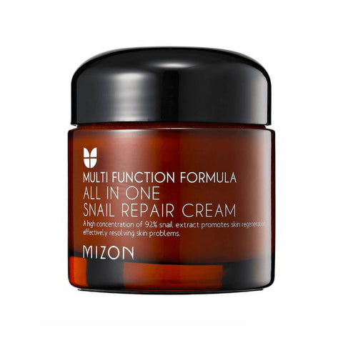 Mizon All in One Snail Repair Cream at Nudie Glow Best Korean Beauty Store Australia
