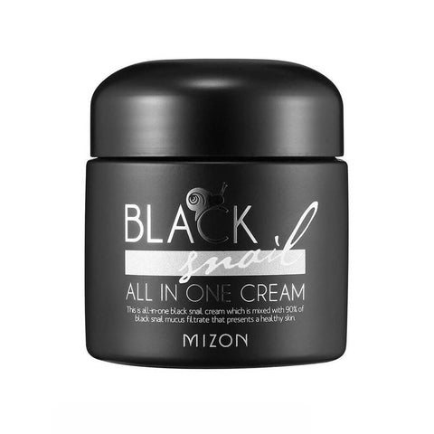 Mizon Black Snail All in One Cream at Nudie Glow Best Korean Beauty Store Australia