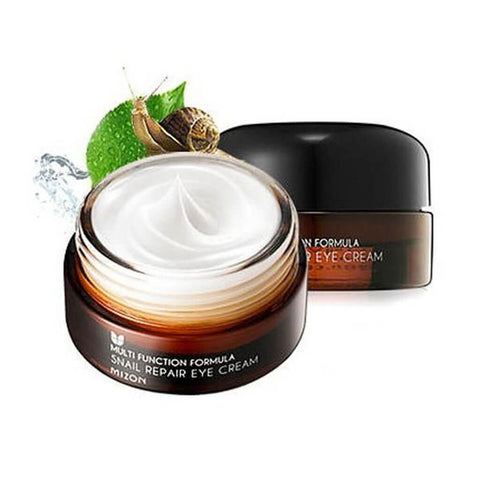 Mizon Snail Repair Eye Cream at Nudie Glow Best Korean Beauty Skin Care Store Australia