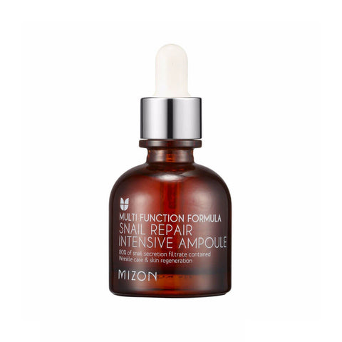 Mizon Snail Intensive Repair Ampoule at Nudie Glow Best Korean Beauty Store Australia