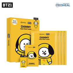 Mediheal BT21 CHIMMY Face Point Mask (BTS Jimin) Nudie Glow Korean Skin Care Australia