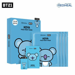 Mediheal BT21 Koya Face Point Mask (BTS Rap Monster) Nudie Glow Korean Skin Care Australia