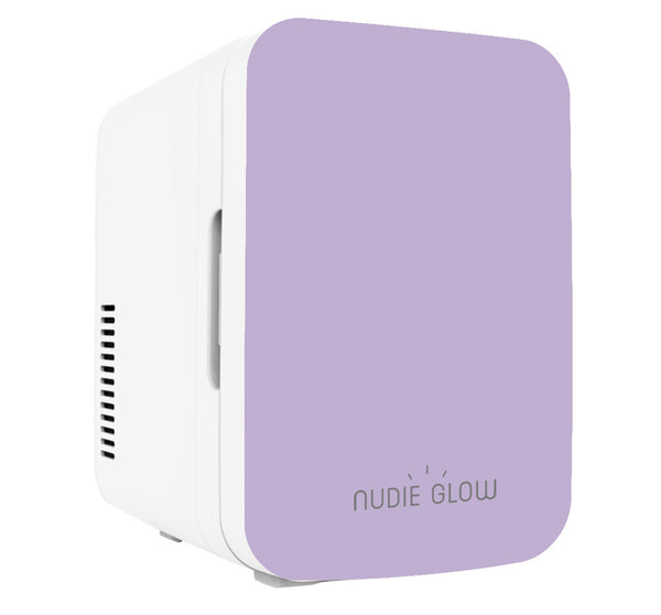 Nudie Glow Mini Beauty Fridge Lilac Skin Care Australia