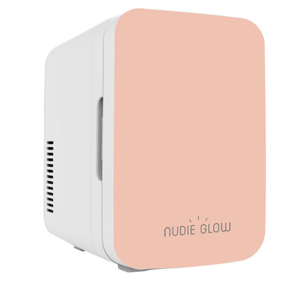 Nudie Glow Mini Beauty Fridge Peach Skin Care Australia