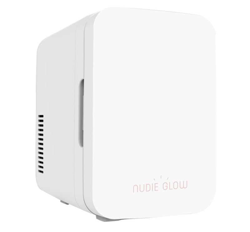 Nudie Glow Mini Beauty Fridge White Skin Care Australia