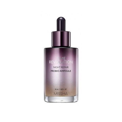 MISSHA Time Revolution Night Repair Probio Ampoule best Korean beauty Nudie Glow Australia