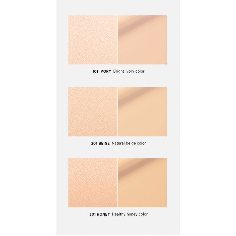 Moonshot Micro Correctfit Cushion Shades Nudie Glow Korean Skin Care Australia