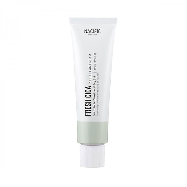 Nacific Fresh Cica Plus Clear Cream Nudie Glow Korean Skin Care Australia