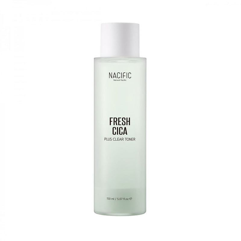 Nacific Fresh Cica Plus Clear Toner Nudie Glow Korean Skin Care Australia