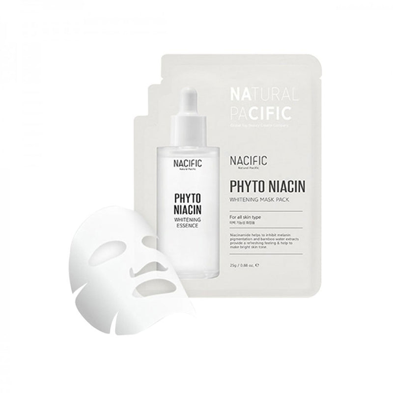 Nacific Phytonian Whitening Mask Pack Nudie Glow Korean Skin Care Australia