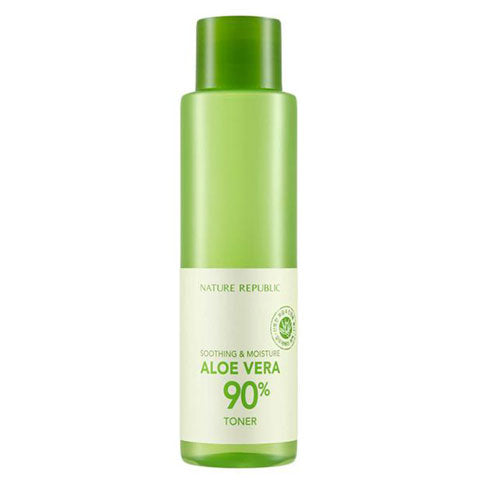 Nature Republic Aloe Vera 90% Toner Nudie Glow Best Korean Beauty Store Australia