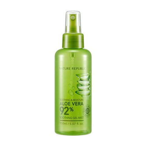 Nature Republic Aloe Vera 92% Soothing Gel Mist Nudie Glow Best Korean Beauty Store Australia