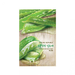 Nature Republic Real Nature Mask Sheet Aloe Nudie Glow Best Korean Beauty Store Australia
