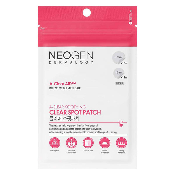 Neogen A-Clear AID Soothing Spot Patch Nudie Glow Korean Skin Care Australia