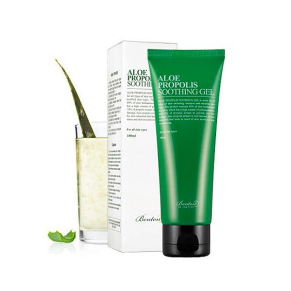 Nudie Glow Benton Aloe Propolis Soothing Gel Korean Beauty Skincare Australia