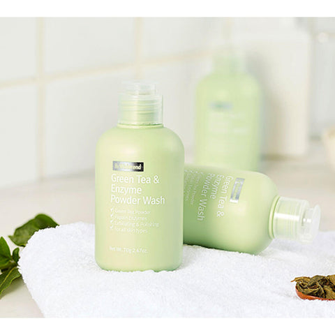 WISHTREND Green Tea and Enzyme Powder Wash at Nudie Glow Best Korean Beauty Store Australia