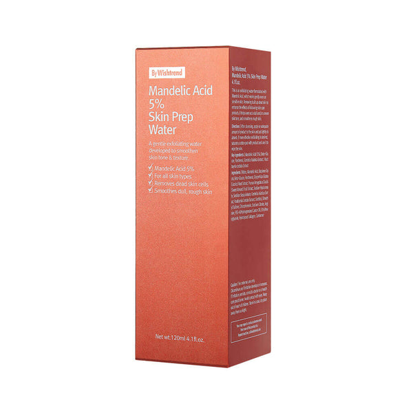 Nudie Glow By Wishtrend Mandelic Acid 5% Prep Water Korean Beauty Skincare Australia