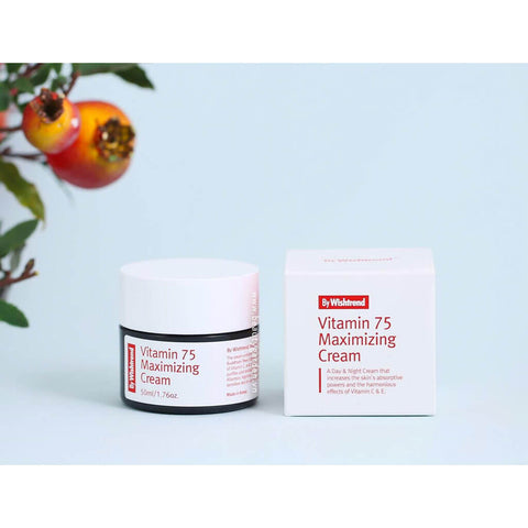 Nudie Glow By Wishtrend Vitamin 75 Maximizing Cream Korean Beauty Australia