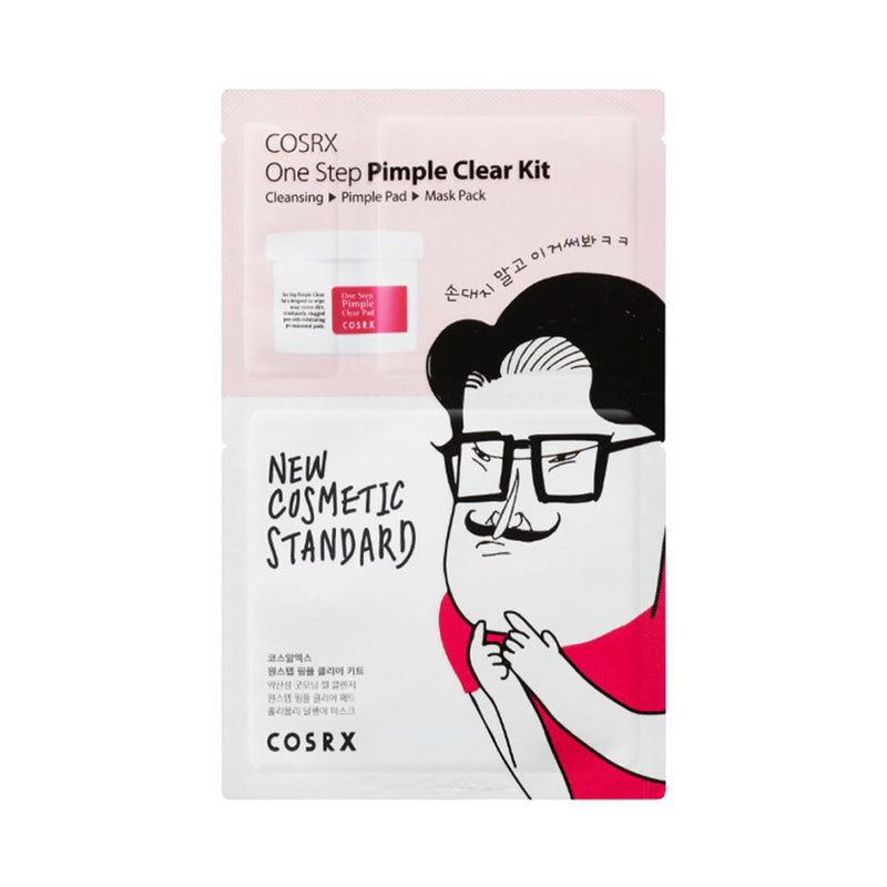 COSRX One Step Pimple Clear Kit Best Korean beauty curated by Nudie Glow in Australia