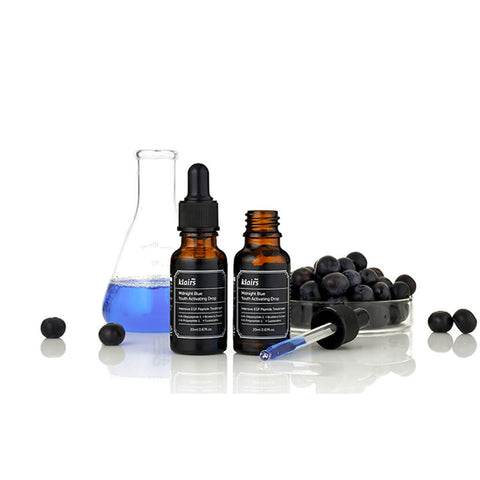 Klairs Midnight Blue Youth Activating Drops at Nudie Glow Best Korean Beauty Store Australia
