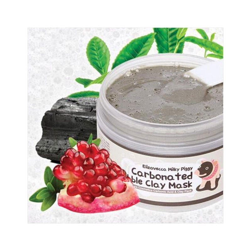 Elizavecca Milky Piggy Carbonated Bubble Clay Mask Nudie Glow Best Korean Beauty Australia