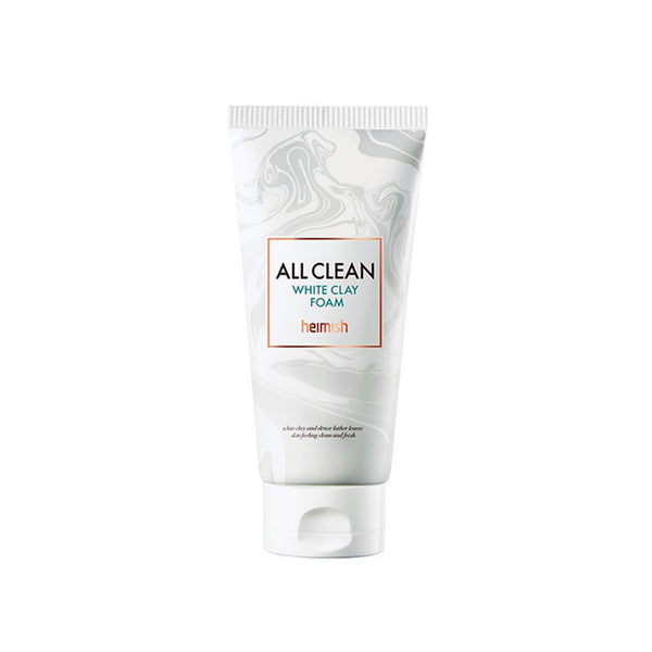 HEIMISH All Clean White Clay Foam Nudie Glow Korean Beauty Skincare Australia