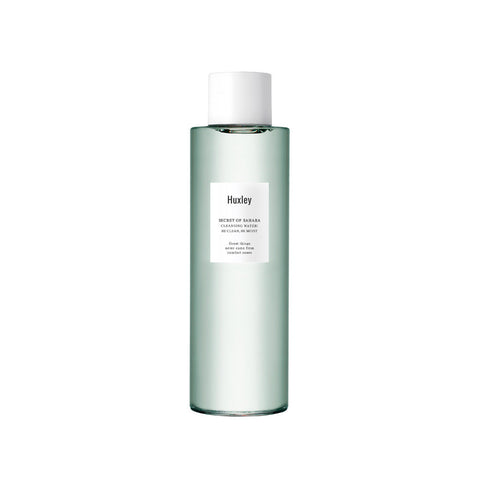 HUXLEY be clean be moist cleansing water best Korean beauty Nudie Glow Australia
