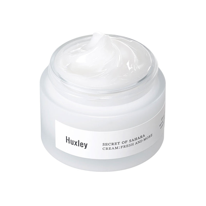 HUXLEY fresh and more cream best Korean beauty Nudie Glow Australia