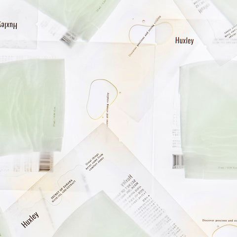 HUXLEY Oil and Extract Mask best Korean beauty Nudie Glow Australia
