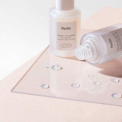 HUXLEY oil essence curated Korean beauty Nudie Glow Australia