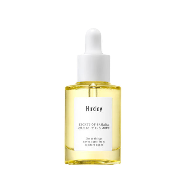 HUXLEY light and more oil best Korean beauty Nudie Glow Australia
