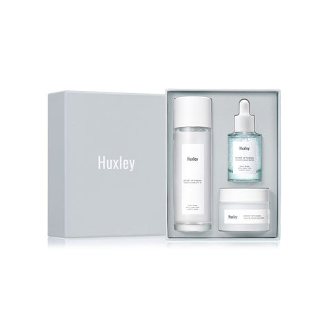 HUXLEY hydration trio best Korean beauty Nudie Glow Australia