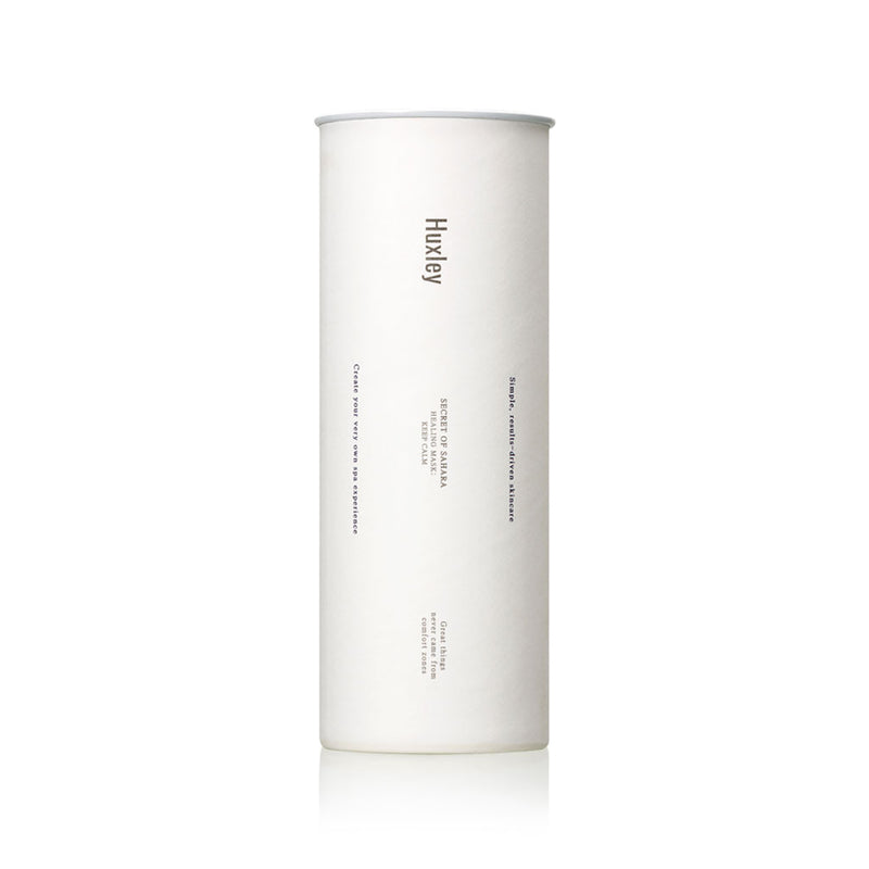 HUXLEY healing mask keep calm best Korean beauty Nudie Glow Australia