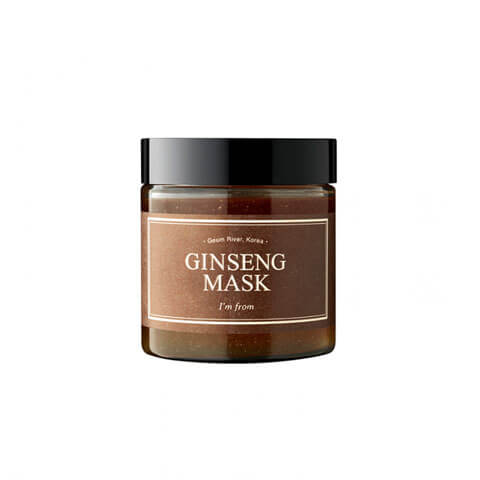 I'M FROM Ginseng Mask Nudie Glow Best Korean Beauty Australia