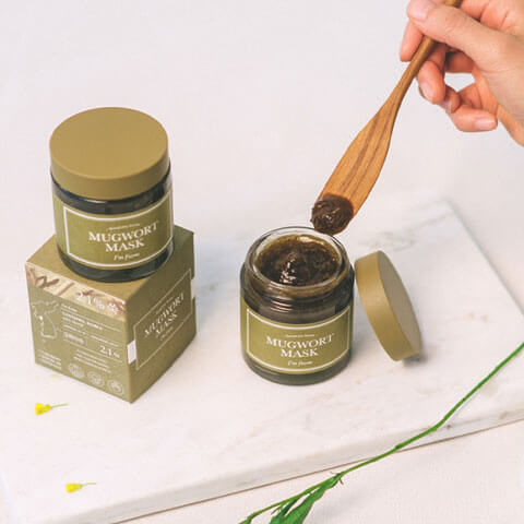 I'M FROM Mugwort Mask Nudie Glow Best Korean Beauty Australia