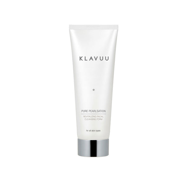 KLAVUU Pure Pearlsation Revitalizing Facial Cleansing Foam Nudie Glow Best Korean Beauty Australia
