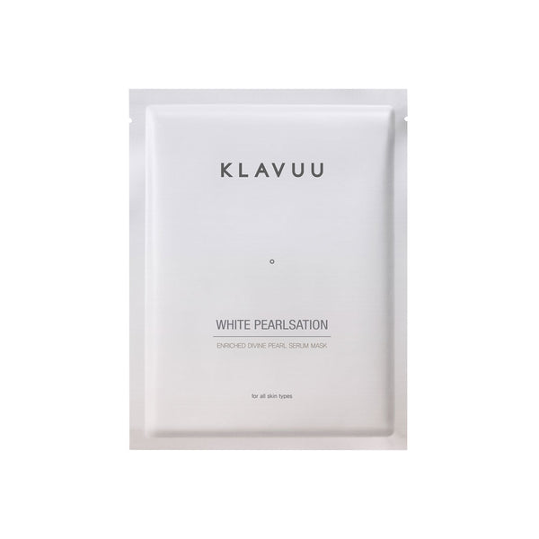 KLAVUU White Pearlsation Pearl Serum Mask Nudie Glow Best Korean Beauty Australia