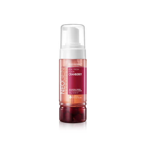 NEOGEN Dermalogy Cranberry Real Fresh Foam Cleanser Best Korean Beauty Skin Care Australia