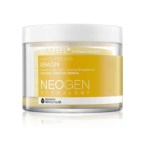 Neogen Bio-Peel Gauze Peeling Lemon Nudie Glow Korean Beauty Australia
