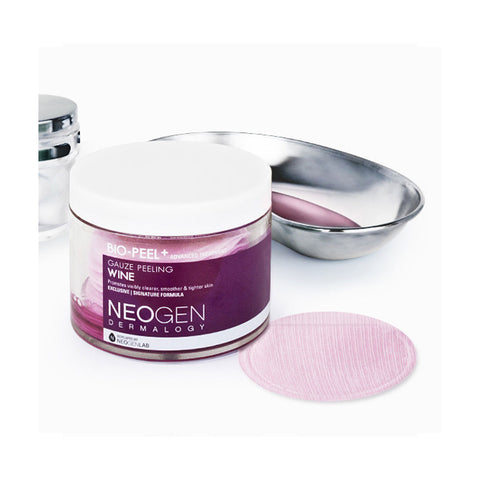 Neogen Bio Peel Gauze Peeling Wine Nudie Glow Korean Beauty Australia