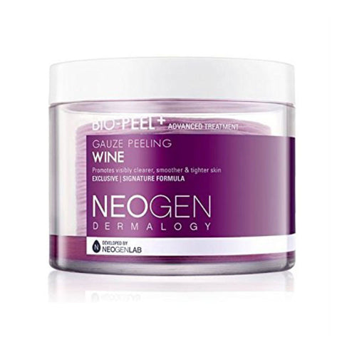 Neogen Bio-Peel Gauze Peeling Wine Nudie Glow Korean Beauty Australia