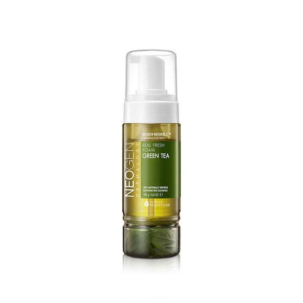 NEOGEN Green Tea Real Fresh Foam Cleanser best Korean beauty Nudie Glow Australia