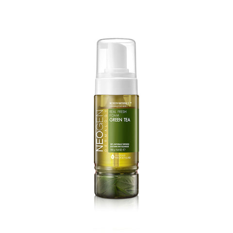 Neogen Dermalogy Green Tea Real Fresh Foam Cleanser at Nudie Glow Best Korean Beauty Store Australia