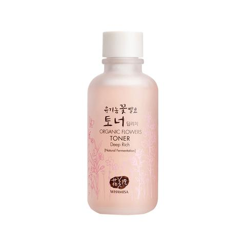 WHAMISA Organic Flowers Deep Rich Essence Toner Best Korean beauty Nudie Glow Australia