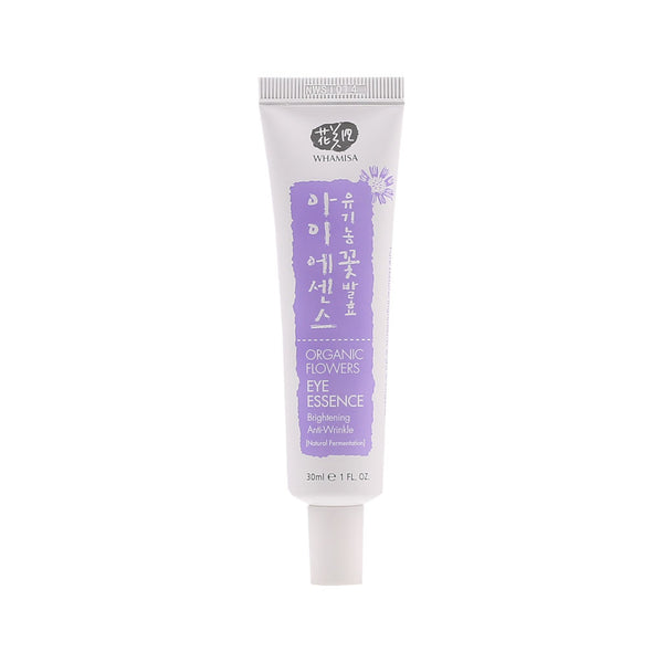 WHAMISA Organic Flowers Eye Essence best Korean beauty Nudie Glow Australia