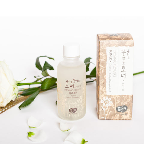 WHAMISA Organic Flowers Original Essence Toner best Korean beauty Nudie Glow Australia