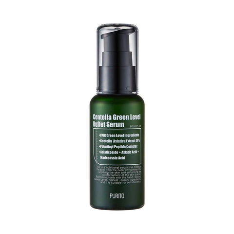 Purito Centella Green Level Buffet Serum Nudie Glow Korean Skin Care Australia